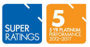 SuperRatings 5 Year Platinum Performance