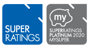 SuperRatings Platinum MySuper 2020